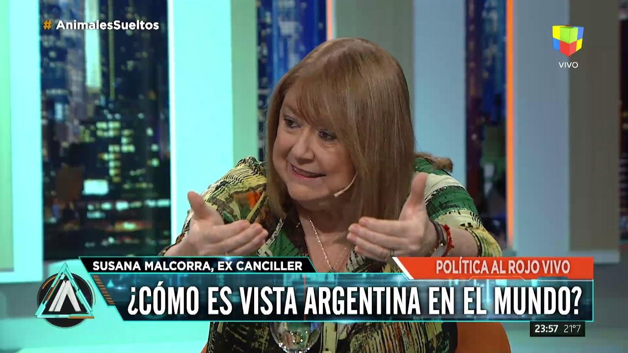 """La ex canciller Susana Malcorra: """"A nuestro país no lo entienden"""""""