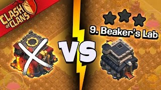 "Clash of Clans: ""UNBREAKABLE... TH10 CAN'T 3 STAR IT?!""  THE GOOD, BAD & UGLY WAR"