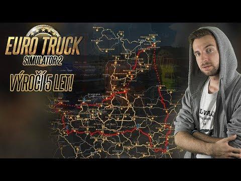 EURO TRUCK SIMULATOR 2 SLAVÍ 5 LET! | Pravidelný livestream