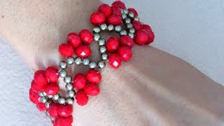 Diy Bracelete Vermelho – Acessórios Femininos