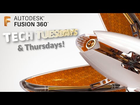 Tech Tuesday & Thursday, Episode 05, Fusion 360 Assemblies and Joints