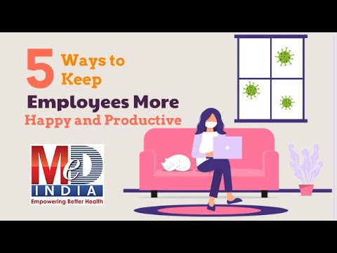 Download Smart 5 Ways to Keep Employees More Happy and Productive - COVID-19 Outbreak