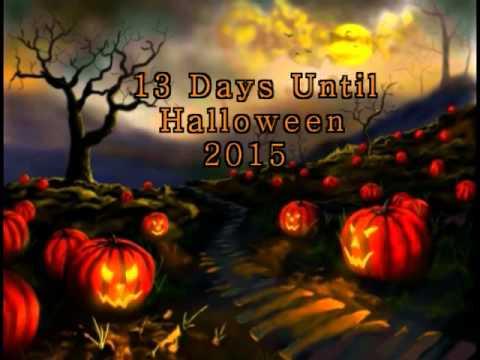 13 Days Until Halloween 2015