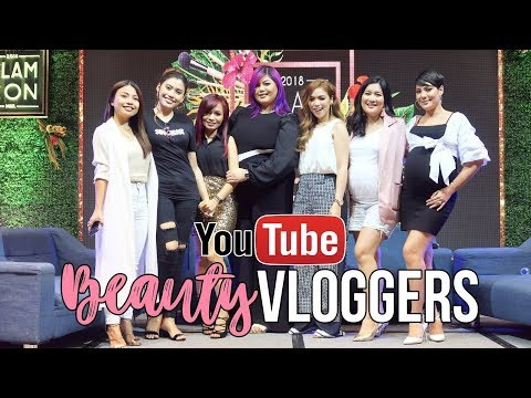 Vlog : YOUTUBERS IN REAL LIFE?! May ISSUE ba? (GLAMCON 2018)