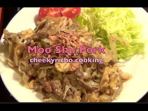 Moo Shu Pork cheekyricho cooking simple Low Carb video recipe ep.1,177
