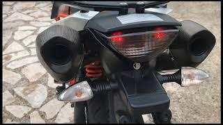 KTM 990 smr akrapovic exhaust supermoto sound