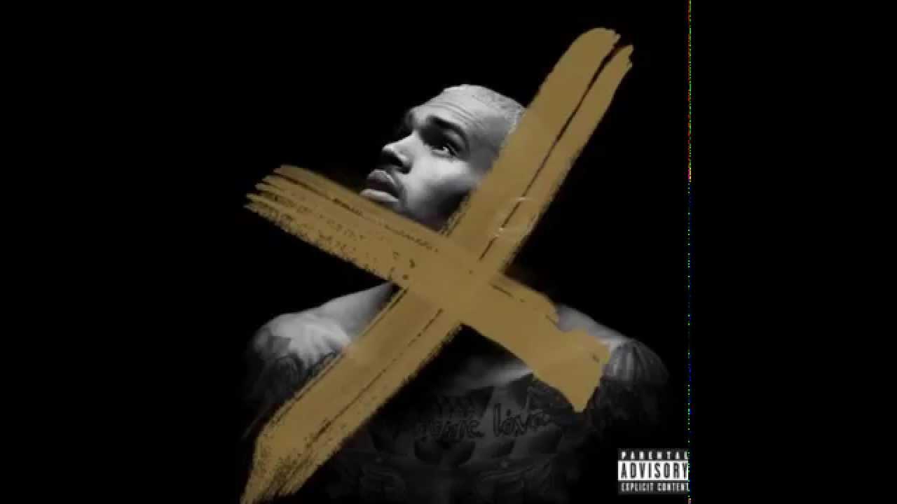 X Deluxe Version Chris Brown Album Cover