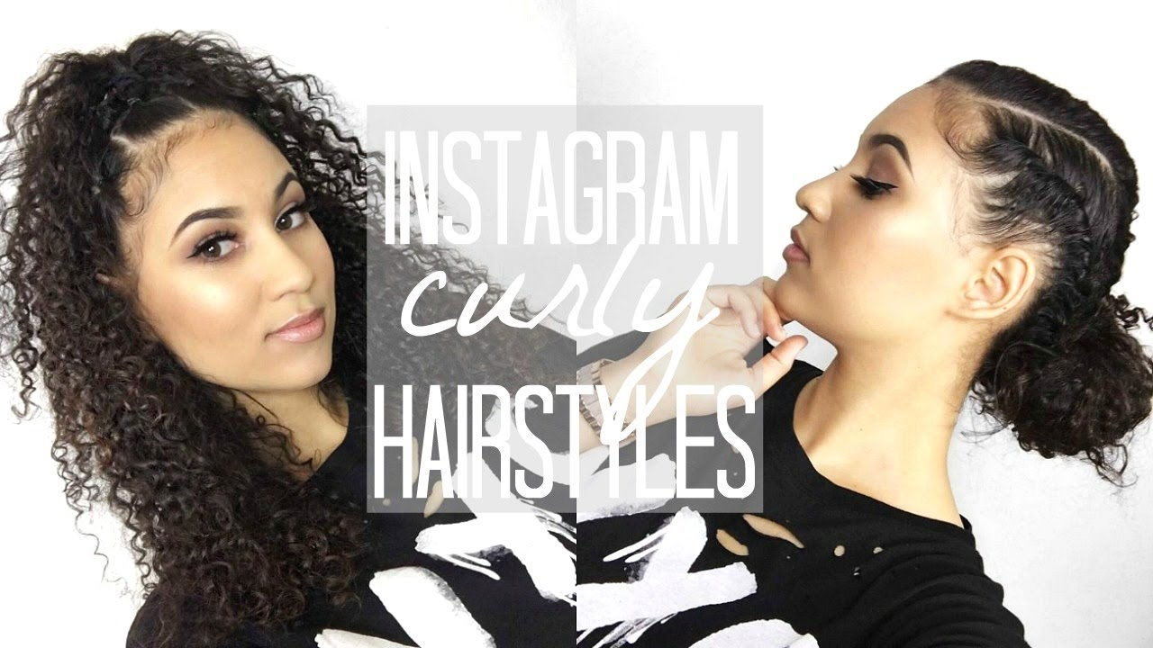 Instagram Curly Hairstyles Youtube