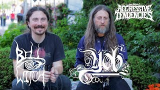 YOB & Bell Witch studio tricks: throwing amps at the ground and noise tracks I Aggressive Tendencies