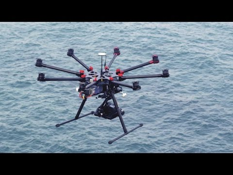 DJI - Introducing the Spreading Wings S1000