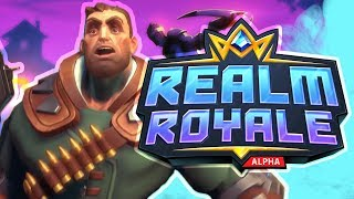 FORTNITE KILLER?! Realm Royale NEW Battle Royale Game | Friday Night Frags
