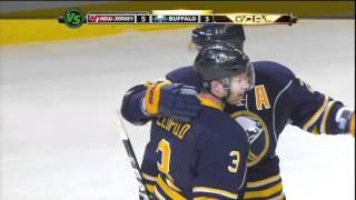 Sabres vs. Devils (11-16-2011) - Jordan Leopold's Goal