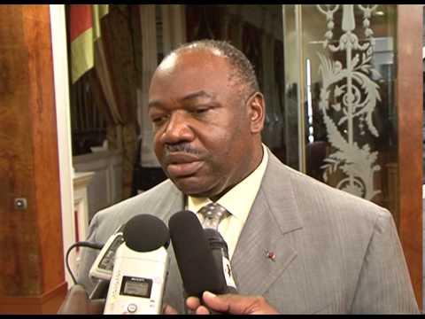 Gabon : rencontre entre le Président et Michel Djotodia, président de la transition en Centrafrique