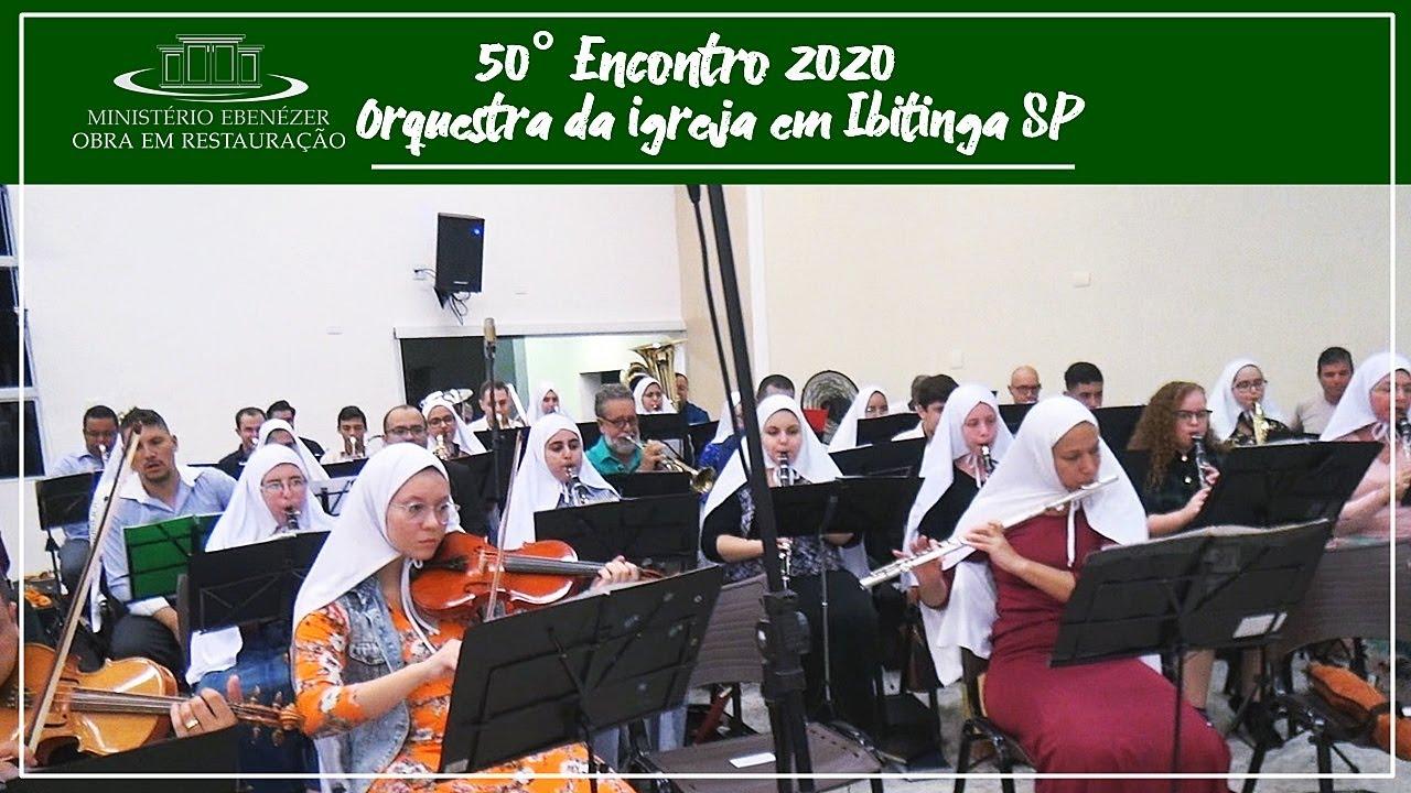 Orquestra da igreja em Ibitinga - Eu navegarei No oceano do Esp�rito - 50� Encontro 2020.