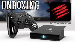 Unboxing - Mad Catz M.O.J.O - Consola Android para emuladores