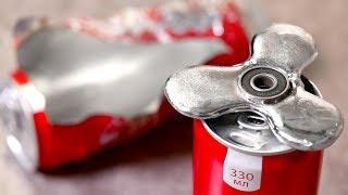 EXPERIMENT Gallium Fidget Spinner VS Hot Coca Cola