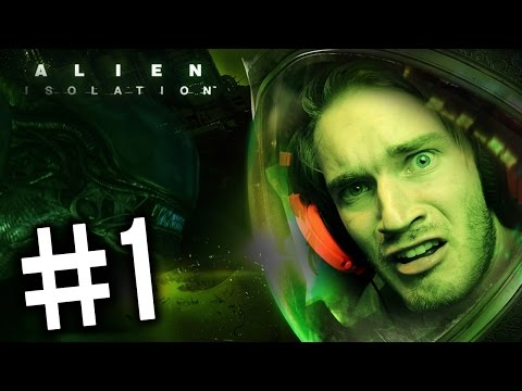 Alien: Isolation - Gameplay - Part 1 - Playthrough  - SO DAMN EXCITED FOR THIS GAME!