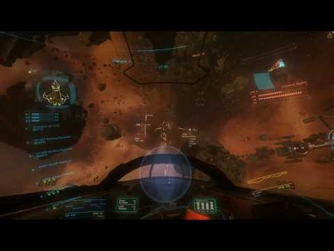 """Star Citizen Alpha - AC v1.1.2 """"A Better Run"""" (Vanduul Swarm Solo. All 18 Waves)"""