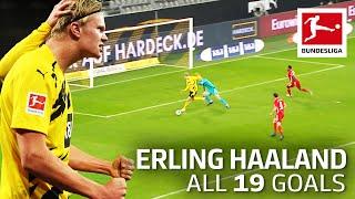 Erling Haaland - 19 Goals In Only 21 Bundesliga Games