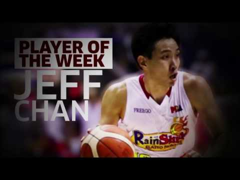 Player of the Week: Jeff Chan | Commissioner's Cup 2017