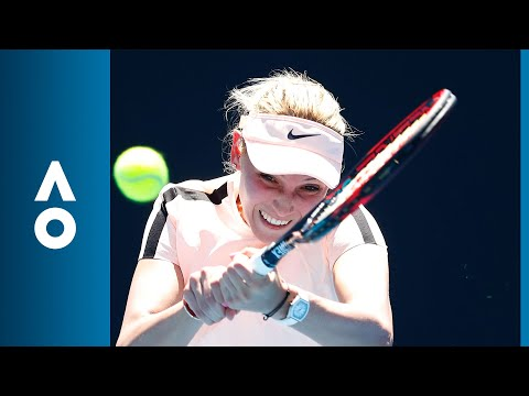 Nao Hibino v Donna Vekic match highlights (1R) | Australian Open 2018