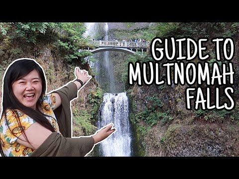 ULTIMATE GUIDE TO MULTNOMAH FALLS & COLUMBIA RIVER GORGE! Portland Travel Guide