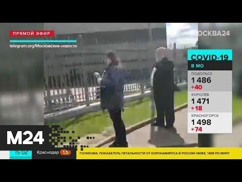 Как москвичи соблюдают режим самоизоляции - Москва 24