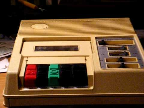 Nls Talking Book Cassette Player For The Blind Youtube