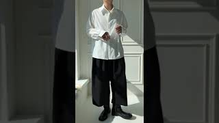 남자 봄 오버핏 셔츠 코디 추천 데이트룩 대학생 개강 …