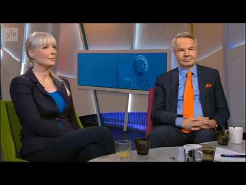 Yle: Aamutv Laura Huhtasaari ja Pekka Haavisto