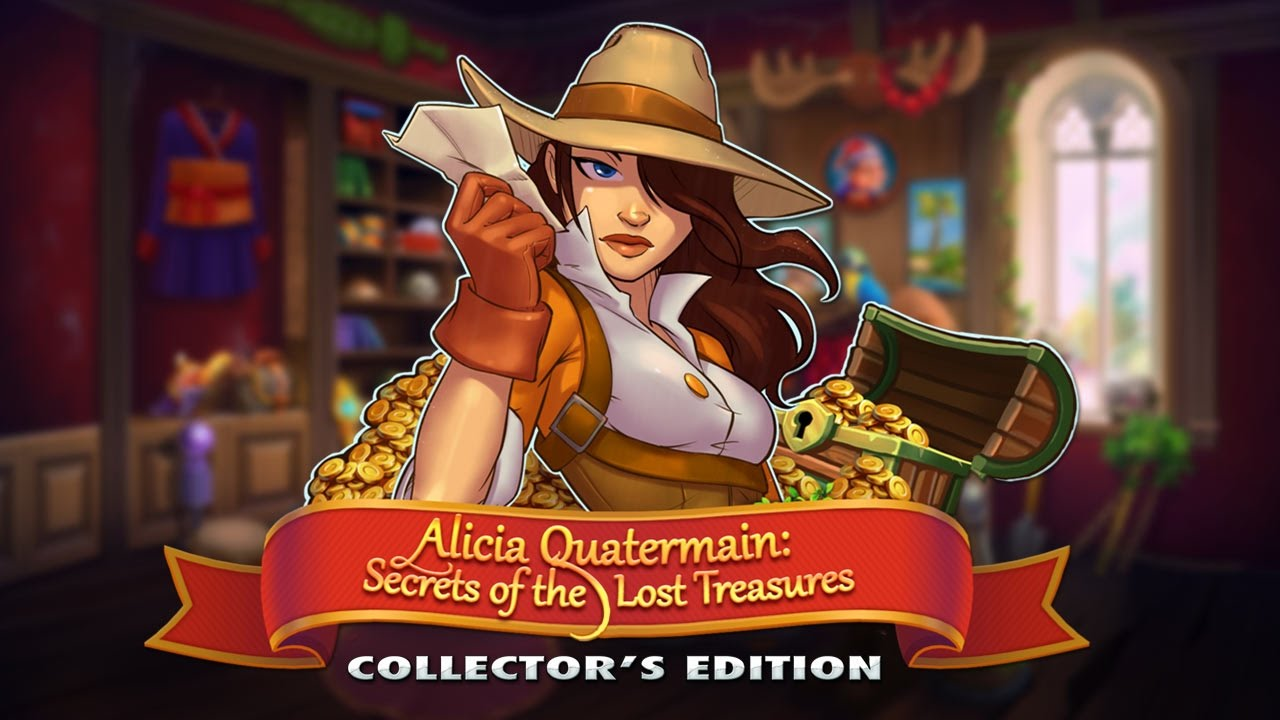 Alicia Quatermain: Secrets Of The Lost Treasures Collector's