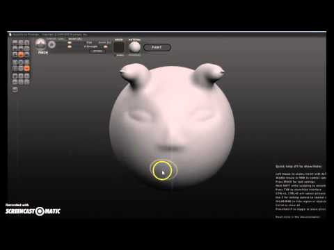 Sculptris - Beginner Tutorial