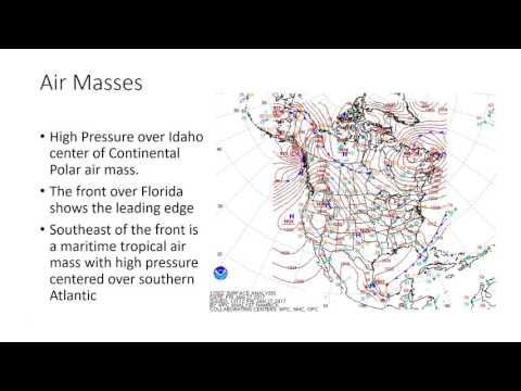 air mass fronts and cyclones
