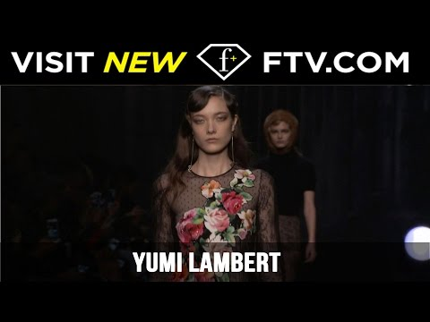 Model Talks Fall/Winter 2017 - Yumi Lambert | FashionTV
