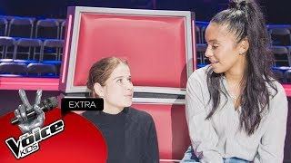Zo ging het er backstage aan toe bij team Laura! | The Voice Kids Extra 2018