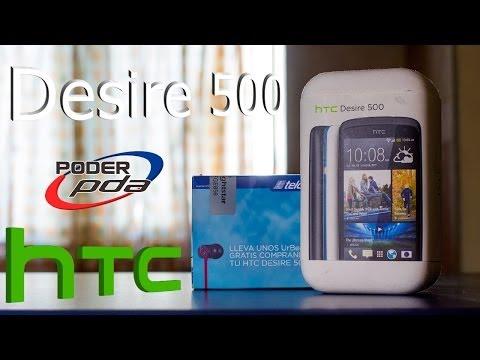 HTC Desire 500 - Unboxing en Español HD