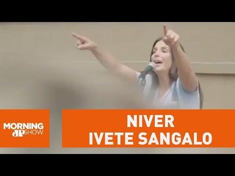 Ivete Capricha Com Pocket Show Em Seu Aniversário