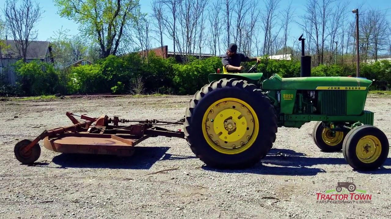 SOLD! 7' Foot Hydraulic Bush Hog #307 Brush Hog Mower Cutter For Sale in  TN  Pull Behind