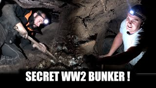 We are excavating an undiscovered bunker! what's inside?