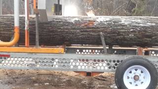 Sawmill Sid Portable Sawmill In Action