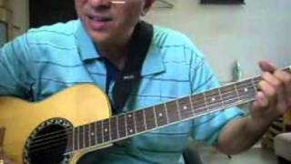 Kahin Dhoor Jab Hindi song guitar chords lesson by Suresh