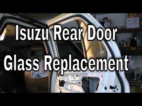 Replacing Rear Door Glass 1998 Isuzu Rodeo