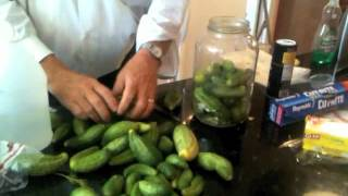 How to make pickles, by Andy