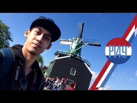[ Vlog ] เป้ใบเดียว เที่ยวเนเธอร์แลนด์ Netherland (Amsterdam,Zaanse Schans,Rotterdam)