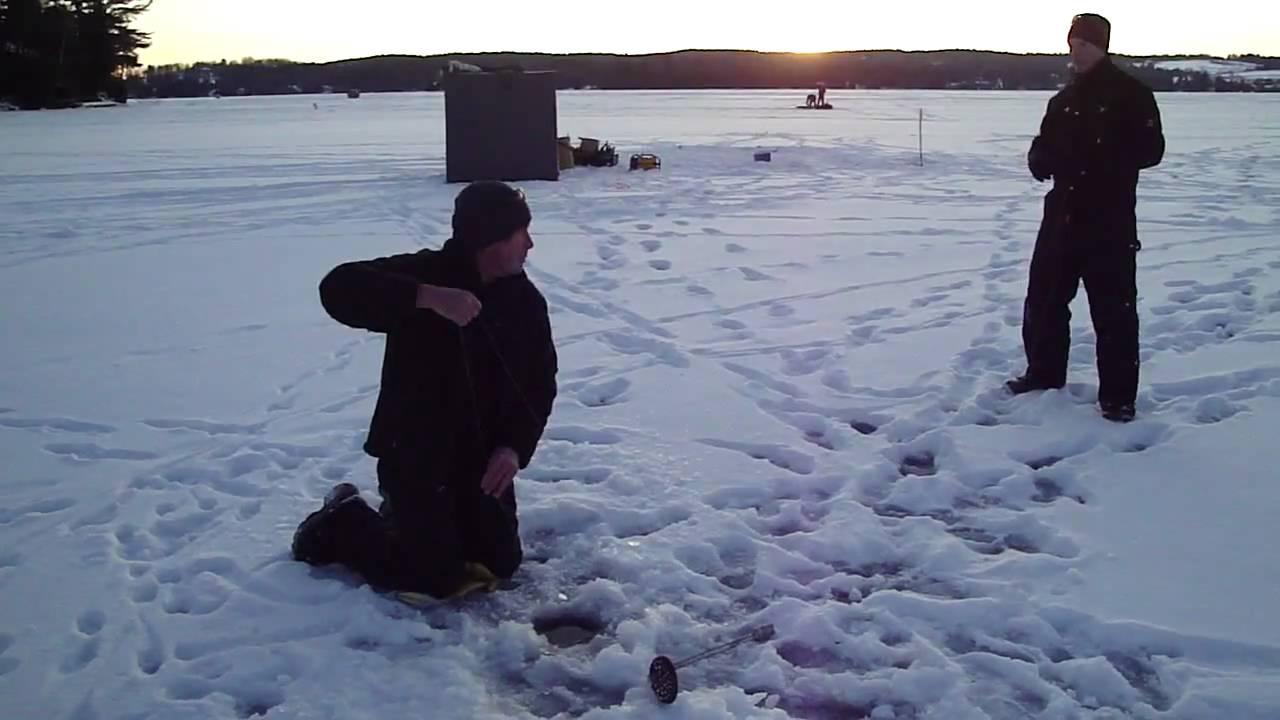 Nice Lake Trout On Caspian Lake Vt Youtube
