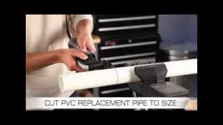 Replacing a rusted drain pipe is easy with the powerful Dremel Mult...