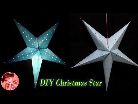 How to make Star Lantern / Akash Kandil for Christmas & New Year Decorations