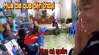 Đi Mua Bia Cho Anh Quyền Trần Thạch Vlogs Troll Luôn Chủ Quán   Cả Quán Được Phen Cười Vỡ Bụng