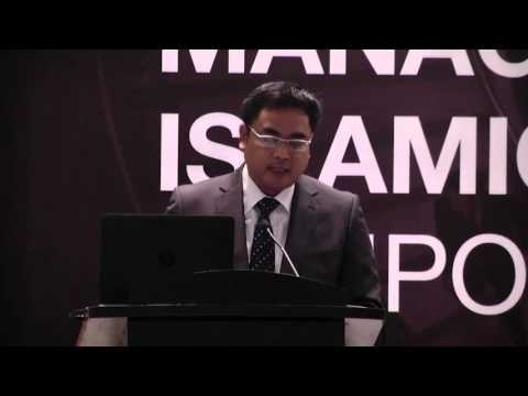 Presented by Mr. Nik Ahmad Zaki from RHB Bank on Managing Risk in the Sukuk Industry