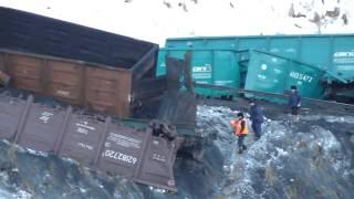 Страшная ЖД авария в Сибири со смертельным исходом